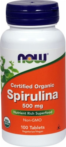 NOW   Spirulina Perspective: front
