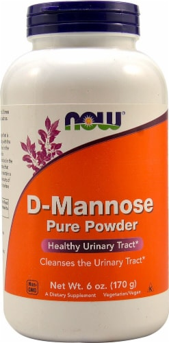 NOW Foods  D-Mannose  Pure Powder Perspective: front