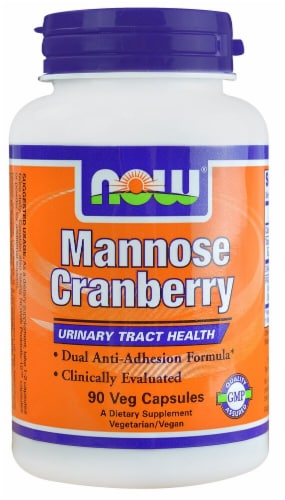 NOW Foods  Mannose Cranberry Perspective: front