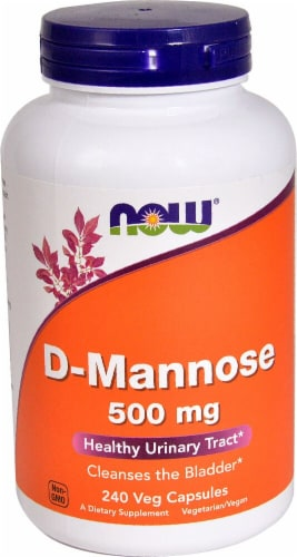 NOW Foods  D-Mannose Perspective: front