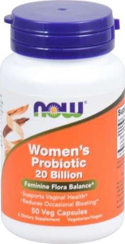 NOW Foods  Women's Probiotic Perspective: front