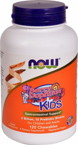 NOW Foods  BerryDophilus™ Kids Perspective: front