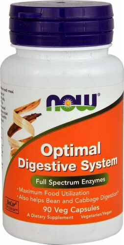NOW Foods  Optimal Digestive System Perspective: front