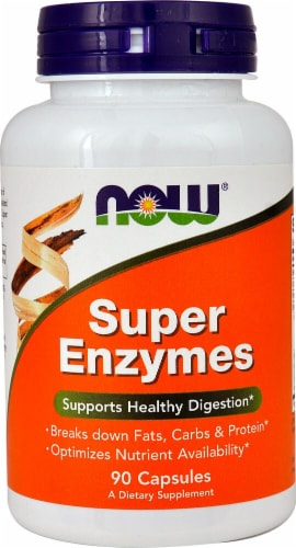 NOW  Super Enzymes Perspective: front