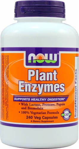 NOW Foods  Plant Enzymes Perspective: front