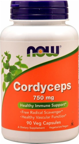 NOW Foods  Cordyceps Perspective: front