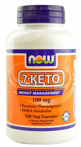 NOW Foods  7-Keto® Perspective: front