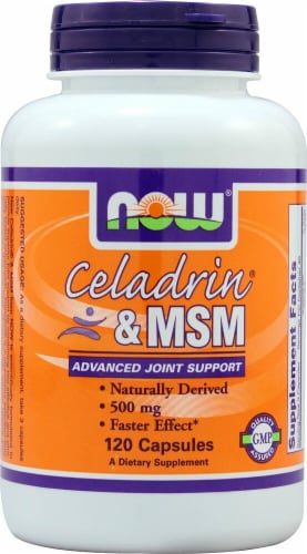 NOW Foods  Celadrin® & MSM Perspective: front