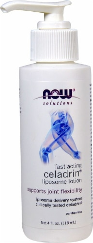 NOW Foods  Solutions Celadrin® Liposome Joint Support Lotion Perspective: front