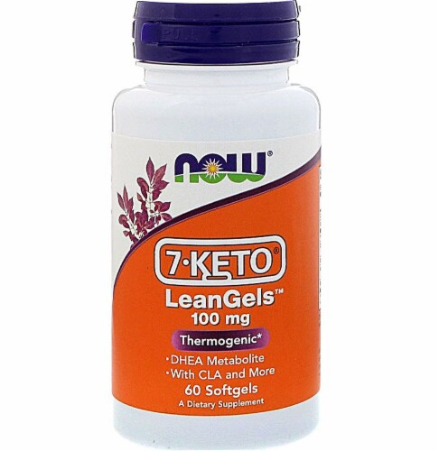 NOW Foods 7-KETO® LeanGels Perspective: front