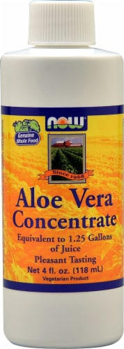 NOW Foods Aloe Vera Concentrate Perspective: front