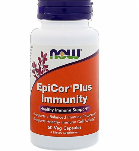 NOW Foods  EpiCor® Plus Immunity Perspective: front