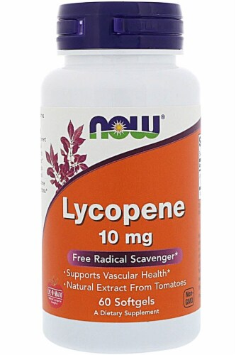 NOW Foods  Lycopene Perspective: front