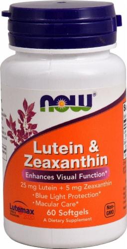 NOW Foods  Lutein & Zeaxanthin Perspective: front