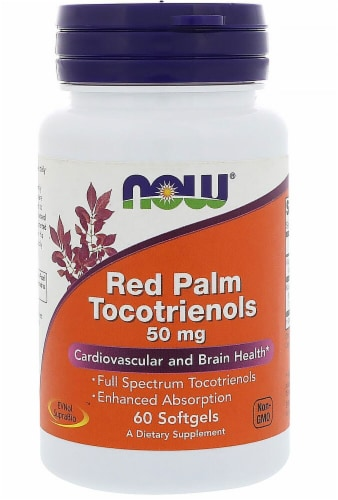 NOW Foods  Red Palm Tocotrienols Perspective: front