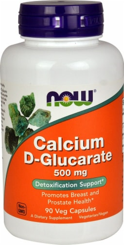 NOW Foods  Calcium D-Glucarate Perspective: front