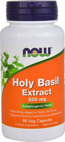 NOW Foods  Holy Basil Extract Perspective: front