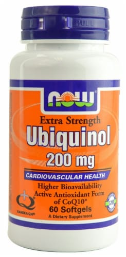 NOW Foods  Ubiquinol Perspective: front