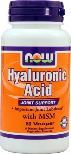 NOW Foods  Hyaluronic Acid Perspective: front