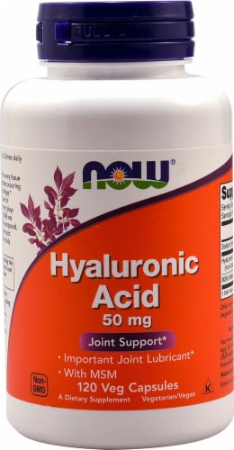 NOW  Hyaluronic Acid Perspective: front
