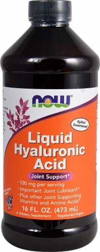 NOW  Liquid Hyaluronic Acid   Berry Perspective: front