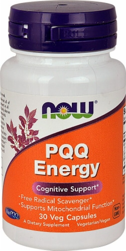 NOW Foods  PQQ Energy Perspective: front