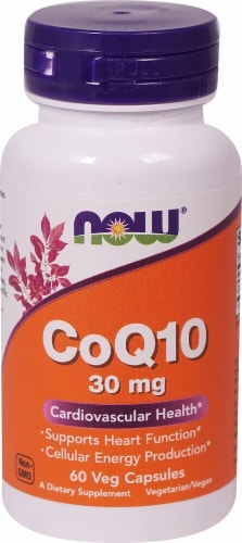 NOW Foods  CoQ10 Perspective: front