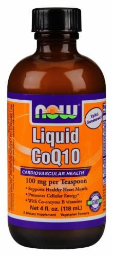 NOW Foods  Liquid CoQ10 Perspective: front