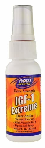 NOW Foods  Sports IGF-1 Extreme Extra Strength Perspective: front