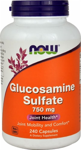 NOW   Glucosamine Sulfate Perspective: front