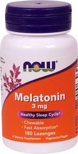 NOW Foods  Melatonin Perspective: front