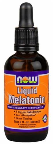 NOW Foods  Liquid Melatonin Perspective: front