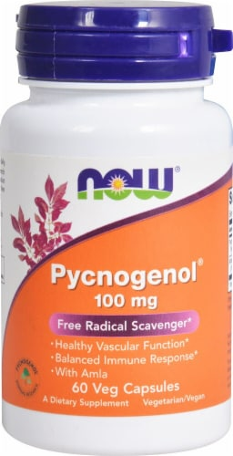 NOW Foods  Pycnogenol Perspective: front