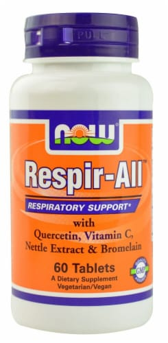 NOW Foods  Respir-All™ Perspective: front