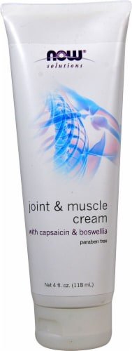 NOW Foods  Solutions Joint & Muscle Cream Perspective: front