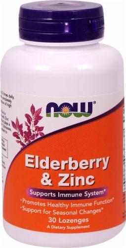 NOW   Elderberry & Zinc Perspective: front