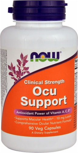 NOW Foods  Clinical Strength Ocu Support Perspective: front