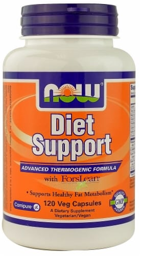 NOW Foods  Diet Support with ForsLean® Perspective: front