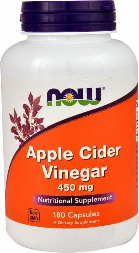 NOW  Apple Cider Vinegar Perspective: front