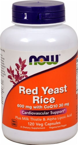 NOW Foods  Red Yeast Rice Perspective: front