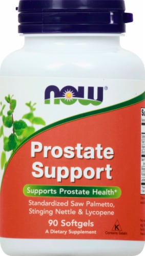 NOW Foods Prostate Support Softgels Perspective: front