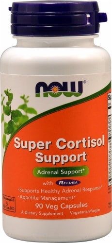 NOW  Super Cortisol Support Perspective: front