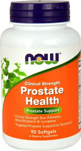 NOW Foods  Prostate Health Clinical Strength Perspective: front