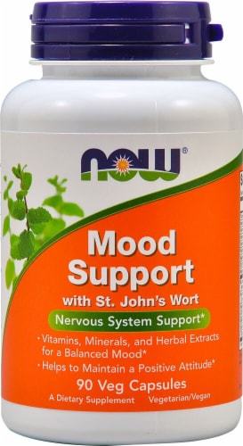 NOW  Mood Support with St. John's Wort Perspective: front