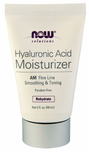 NOW Foods  Solutions   Hyaluronic Acid Moisturizer Perspective: front