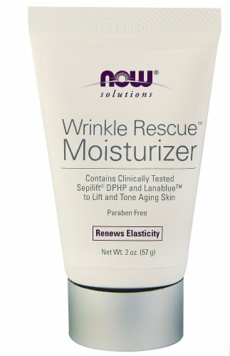 NOW Foods  Solutions Wrinkle Rescue™ Moisturizer Perspective: front
