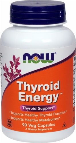 NOW Foods  Thyroid Energy™ Perspective: front