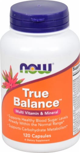 NOW Foods  True Balance™ High Potency Multiple Perspective: front