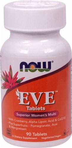NOW Foods  EVE™ Superior Women's Multi Tablets Perspective: front