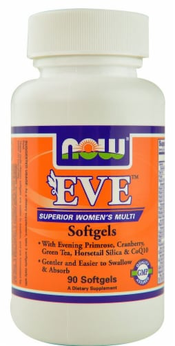 NOW Foods  EVE™ Superior Women's Multi Softgels Perspective: front